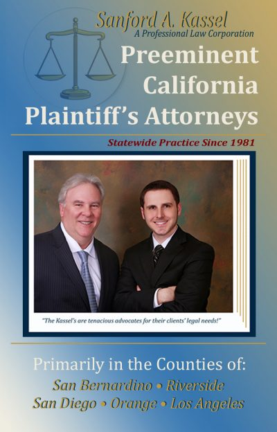 Preeminent California Plaintiff's Attorneys