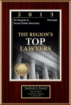 The Region's Top Lawyers | Inland Empire Magazine