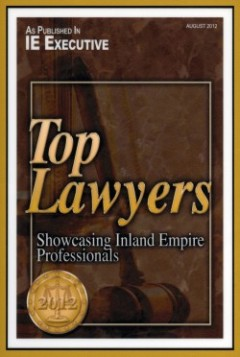 Top Lawyers | Inland Empire Executive Magazine