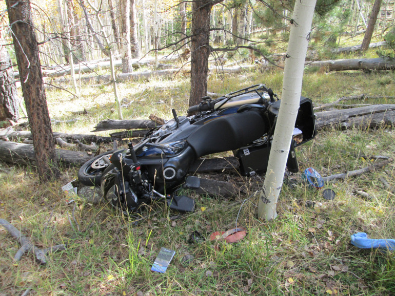 Motorcyclist who died after crashing into falling tree felled by Boy Scouts identified (Fox 13 News - Salt Lake City)