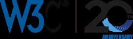 W3C-20th Anniversary Banner