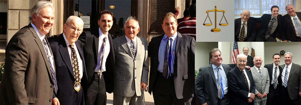 A Family Affair… Three Generations of Trusted San Bernardino Trial Lawyers. Spanning Over 50 Years.